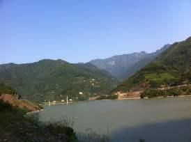 Muratlı köyünden görünüm Borçka Artvin